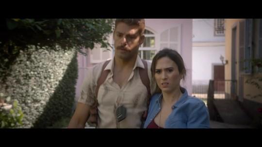 Tatá Werneck revela bastidores de filme com Cauã Reymond