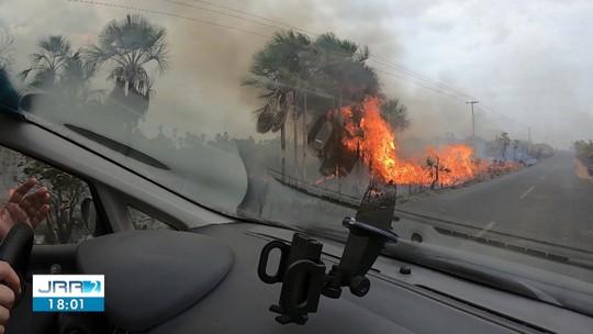 Roraima lidera ranking com maior número de queimadas do Brasil em 2019, aponta Inpe