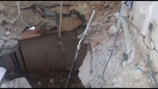 Polícia encontra mais explosivos em banco que teve o cofre arrombado