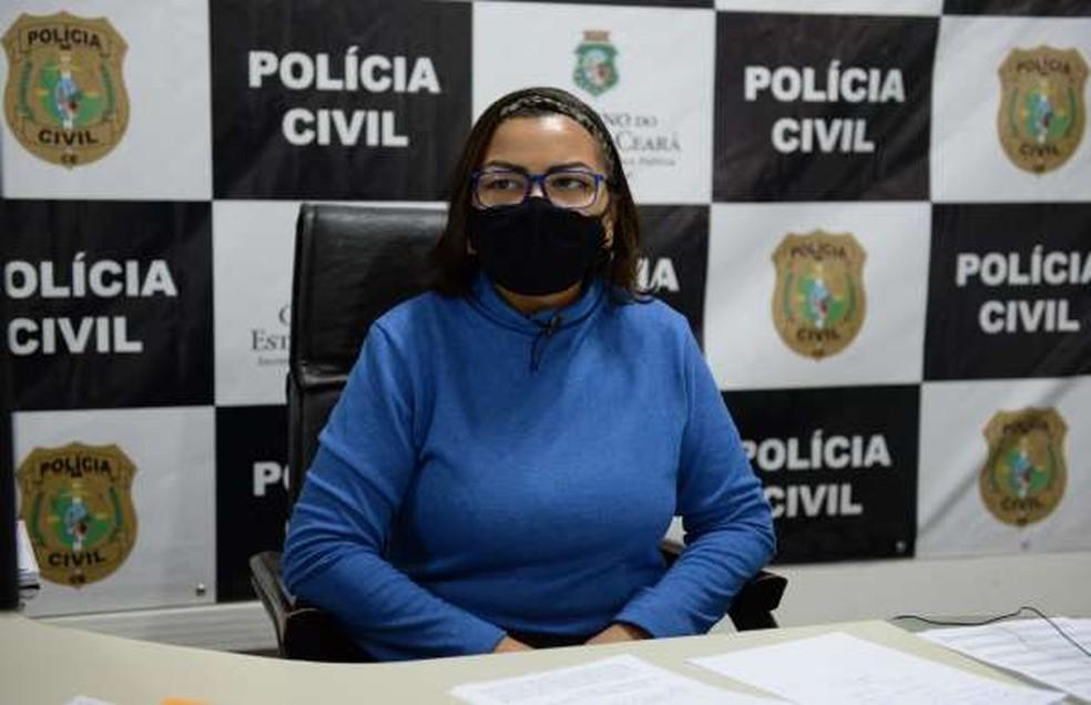 Delegada Ana Paula Barroso denuncia loja por racismo após ter sido barrada — Foto: PCCE/Divulgação