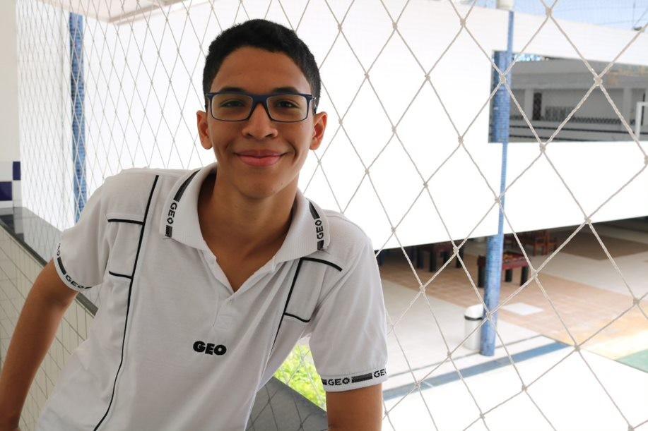 Estudantes do colégio GEO são medalhistas em olimpíadas de Matemática, Física e Robótica - Noticias