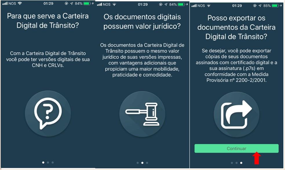 foto-2 #Dica: Você já conhece como funciona o CRLV Digital? Aprenda como baixar e usar o documento no app.