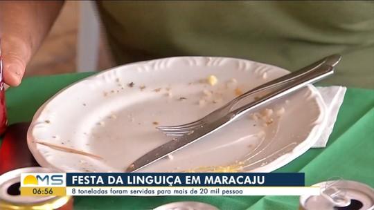 Festa de 2019 serve 8 toneladas de linguiça em Maracaju, MS