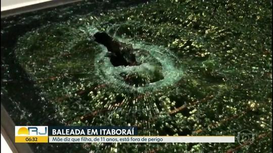 Mãe diz que menina baleada em Itaboraí está fora de perigo