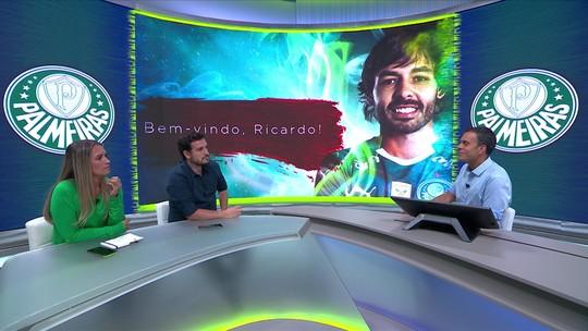 """Raphael Rezende vê encaixe de Goulart  no Palmeiras, mas faz alerta: """"Pesa para o Lucas Lima"""""""