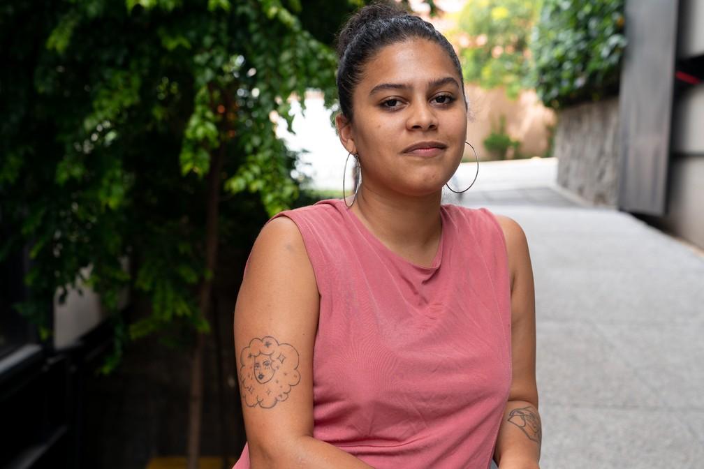 Amanda Abreu, fundadora do Indique Uma Preta — Foto: Marcelo Brandt/G1