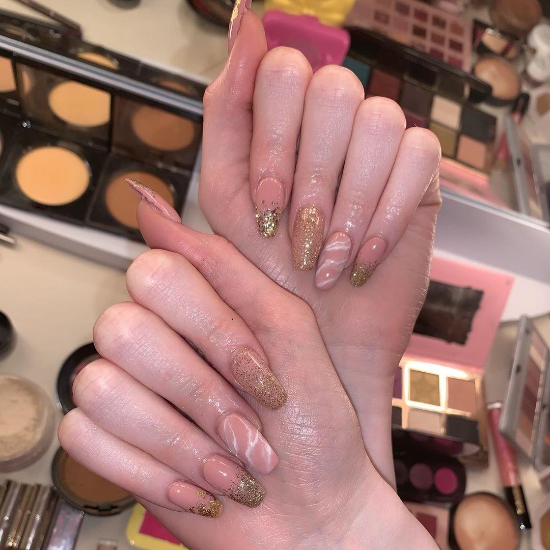 As unhas de Winnie Harlow (Foto: Instagram/ Reprodução)
