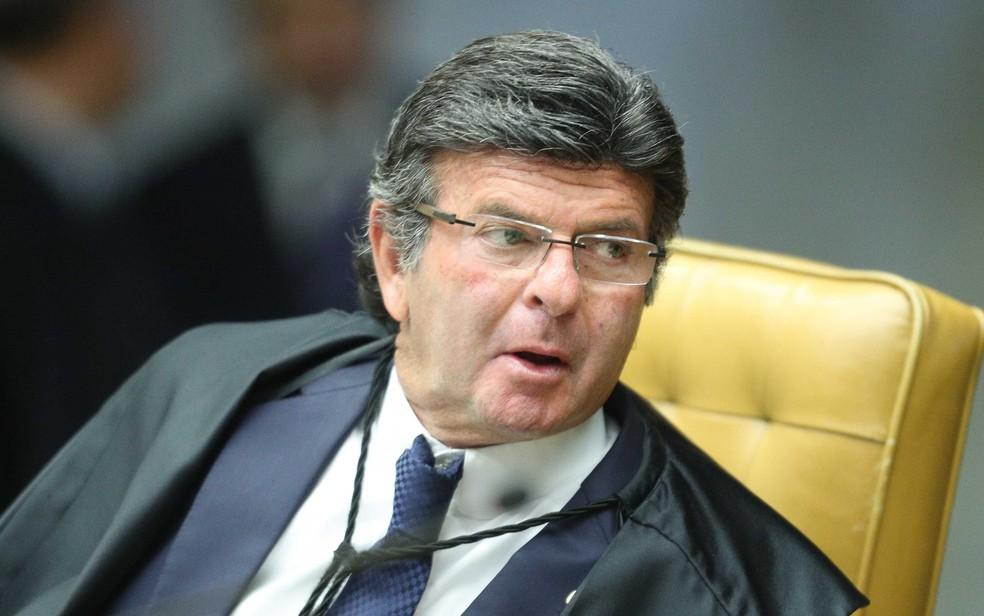 O ministro do STF Luiz Fux (Foto: Daniel Teixeira/Estadão Conteúdo)