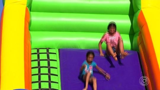 Cidade da Criança recebe festa especial para os pequenos em Itu