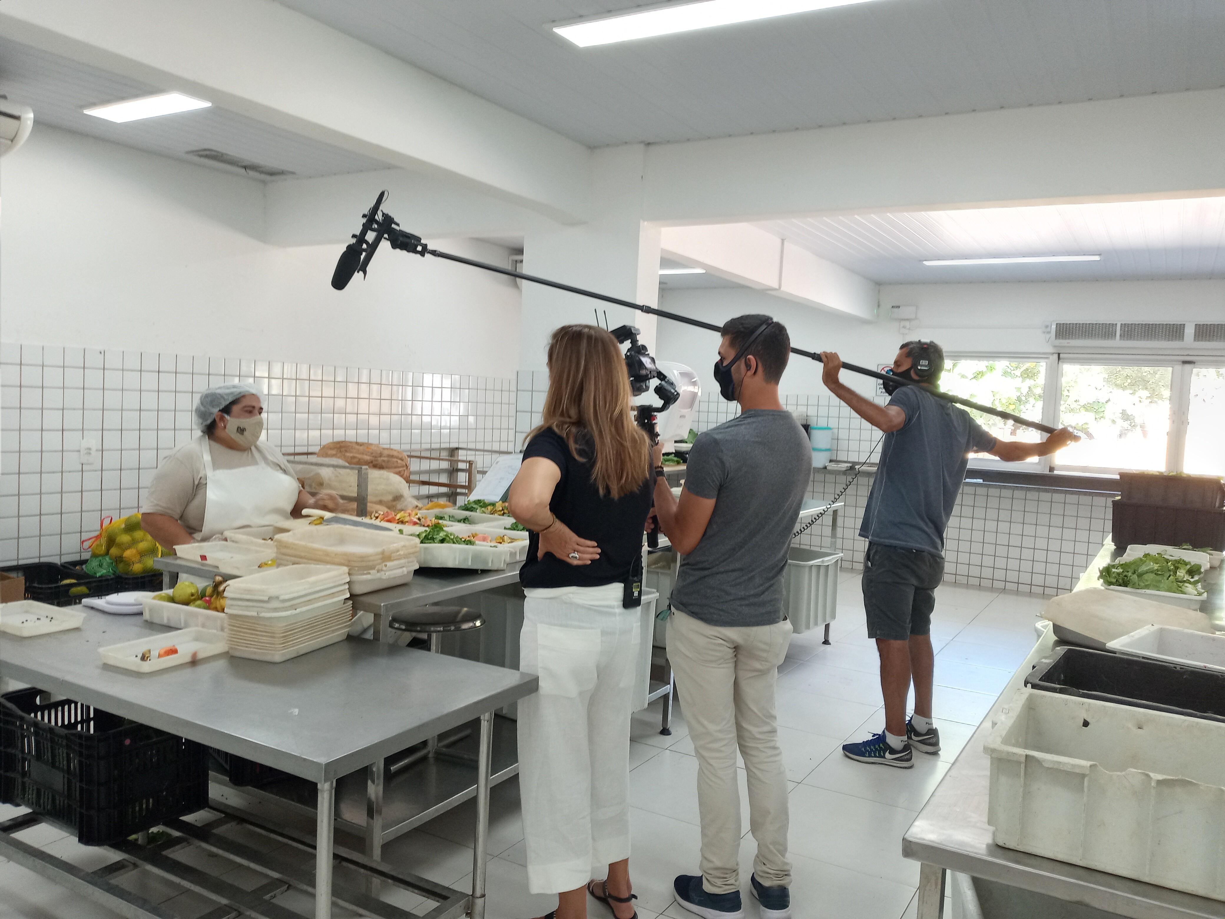 FOTOS: veja os bastidores das gravações do Globo Repórter sobre os bioparques
