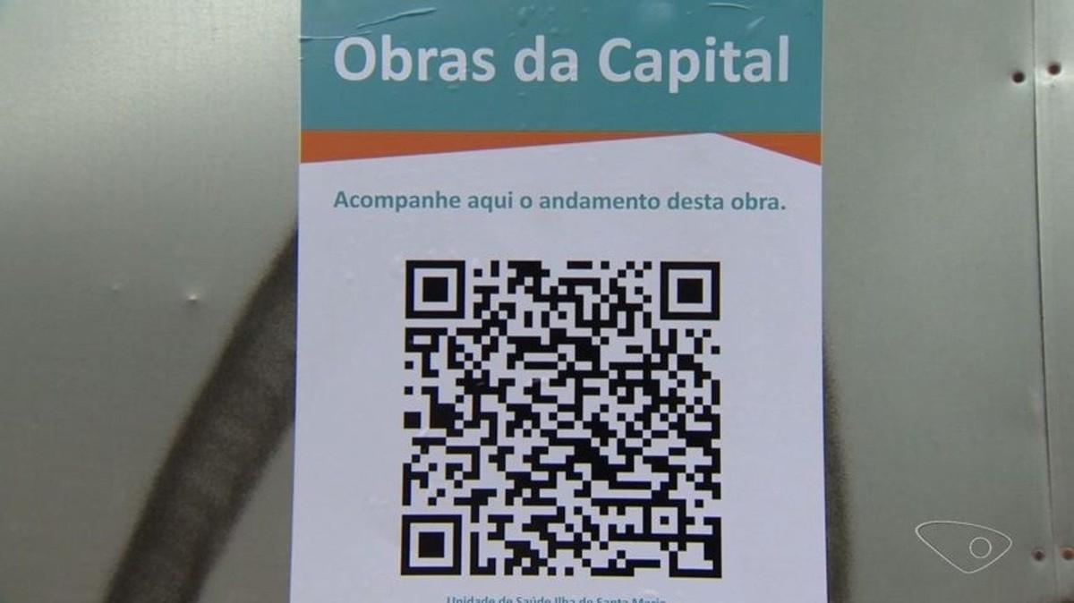 Obras públicas de Vitória poderão ser acompanhadas por QR Code