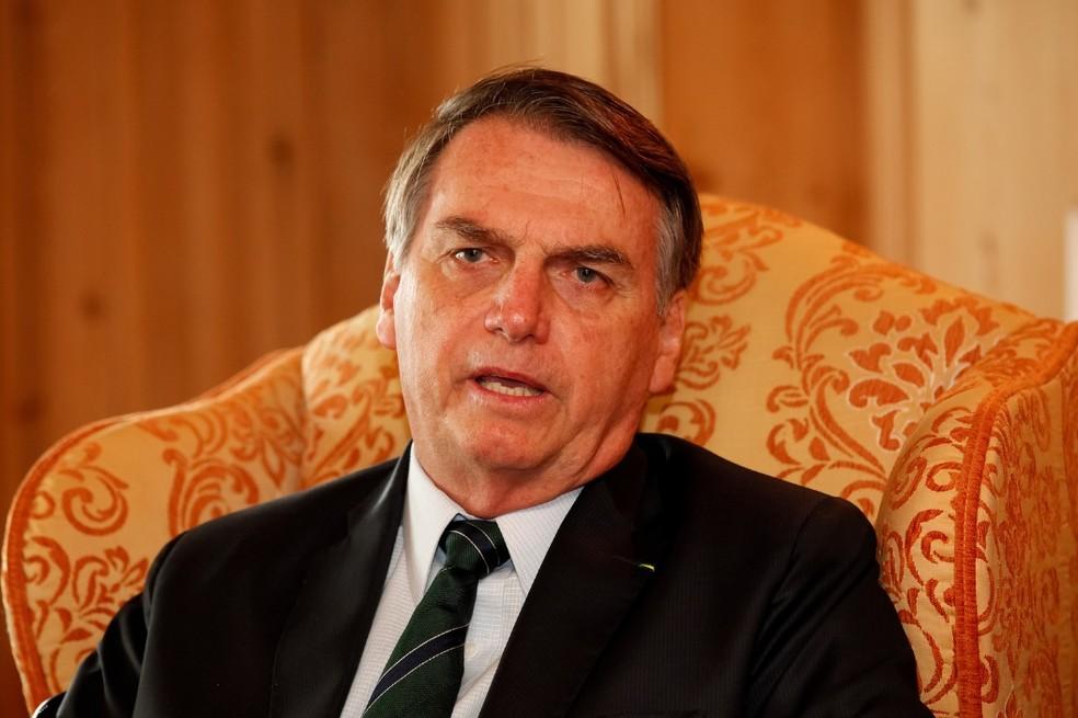 Após dois meses de governo, Mourão acredita que seu papel continua sendo de escudo e espada do presidente Bolsonaro — Foto: Alan Santos/PR