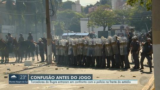 Em nota, Guarani critica violência no dérbi e responsabiliza Polícia Militar por tumulto com torcida