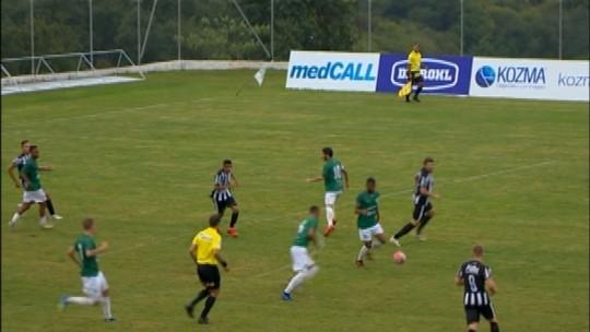 Gaúcho vence o Santa Cruz pela terceira divisão