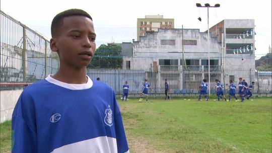 Como uma rede social fez renascer sonho de Kaick, jovem de 13 anos que quer viver do futebol
