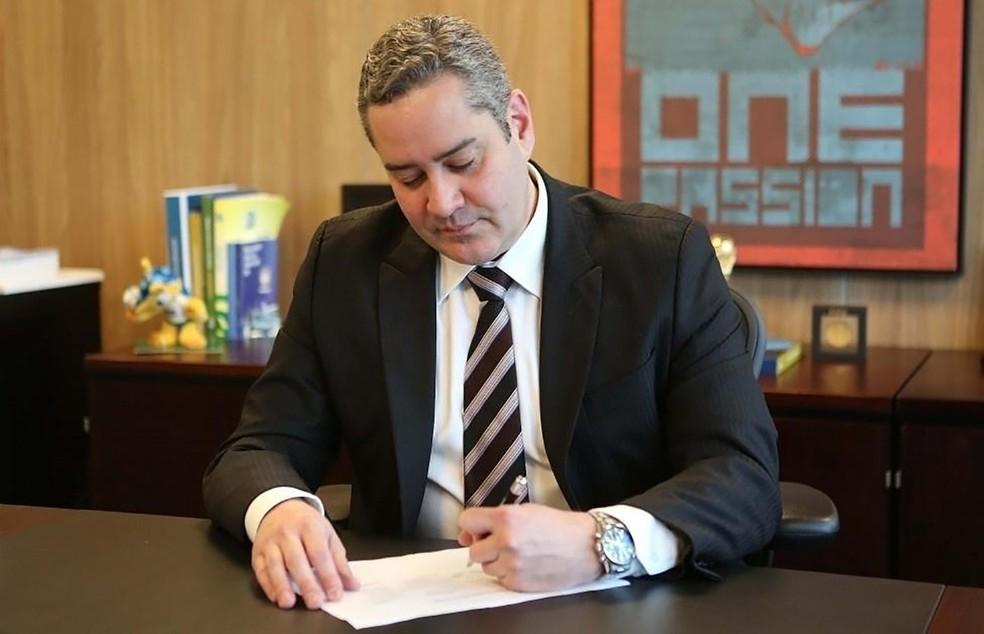 Rogério Caboclo foi afastado da presidência da CBF — Foto: CBF