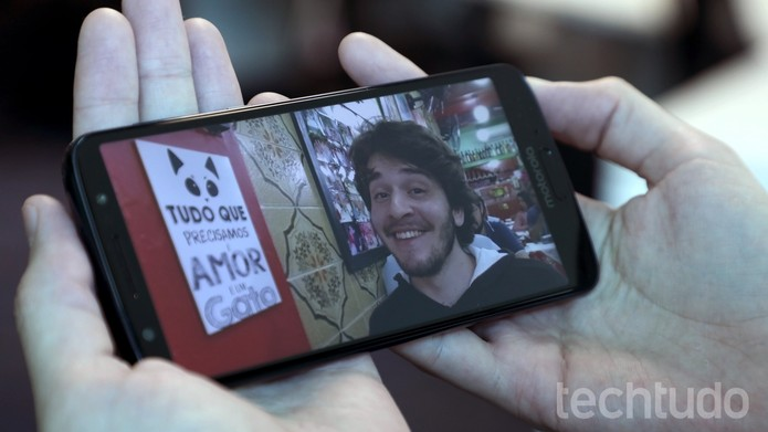 Foto feita com o Moto G6 (Foto: Bruno De Blasi / TechTudo)