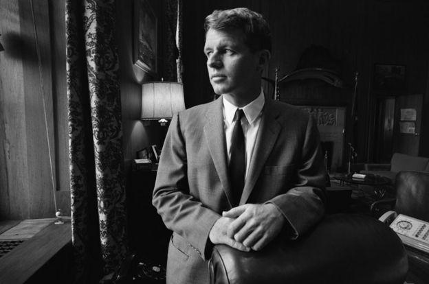 """""""Isso mede tudo... Exceto aquilo que faz a vida valer a pena"""", disse Bobby Kennedy sobre o PIB (Foto: Getty Images)"""