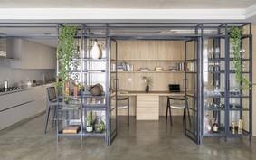 Apartamento com home office integrado à área social