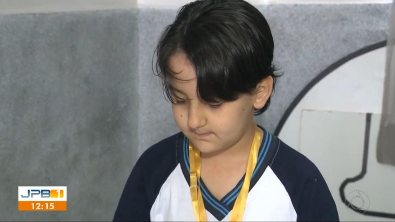 Paraibano de 9 anos tem maior nota do país e leva medalha de ouro em olimpíada de robótica - Notícias - Plantão Diário