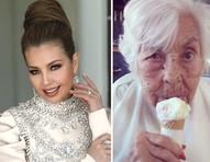 """Thalia e irmã denunciam asilo por maus-tratos a avó de 103 anos: """"Prisão aos responsáveis"""""""