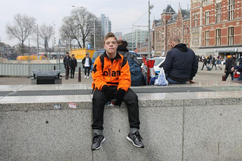 Matheus passou uma semana na Holanda para participar da competição de judô (Foto: Valéria Domingues Moreira | Arquivo Pessoal)