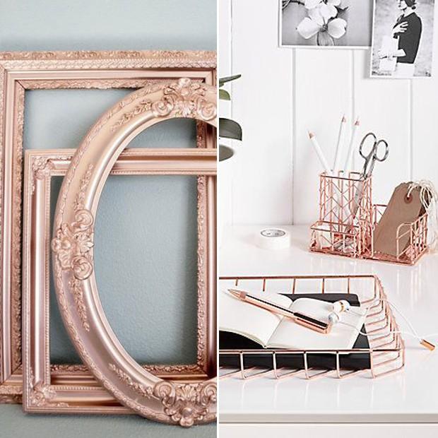 Rose Gold: Os detalhes fazem a diferença, faça você mesmo (Foto: Pinterest/Reprodução)