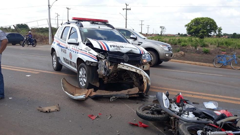 Motociclista de 70 anos não resistiu aos ferimentos e morreu após dar entrada no Hospital Municipal de Grajaú — Foto: Divulgação
