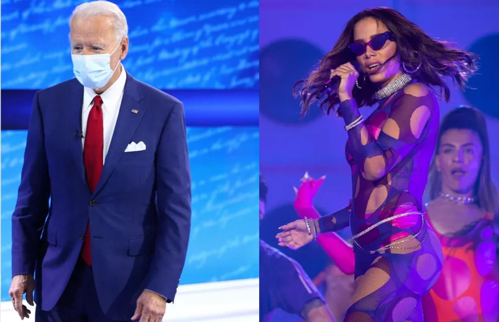 Playlist oficial da posse de Joe Biden nos EUA inclui música de Anitta