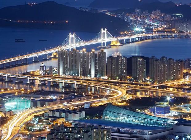 Busan pode ser considerada uma mistura coreana de Nova York com Los Angeles (Foto: Gladtur/ Reprodução)