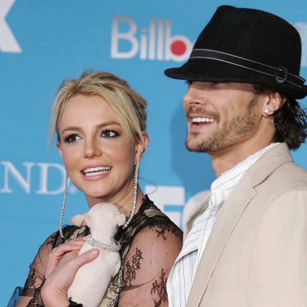 Britney Spears e Kevin Federline (Foto: Getty Images)