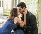 'Espelho da vida': Isabel (Alinne Moraes) e Alain (João Vicente de Castro) | Globo/ João Miguel Junior