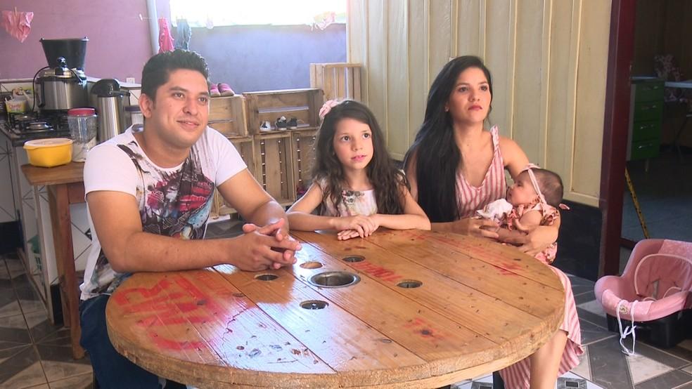 Para a família, o fato do vídeo ter viralizado foi uma surpresa.  — Foto: Rede Amazônica/Reprodução