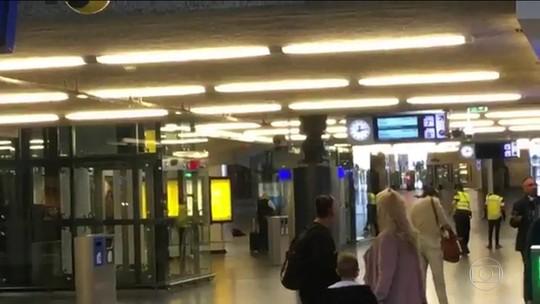 Feridos com faca em estação de Amsterdã eram americanos; polícia não descarta terrorismo