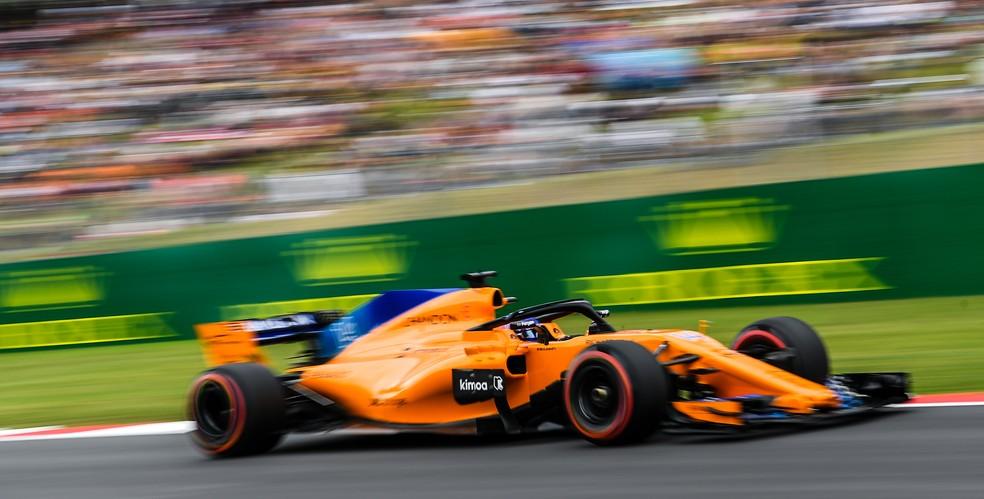 Fernando Alonso no GP da Espanha de 2018 (Foto: David Ramos/Getty Images))