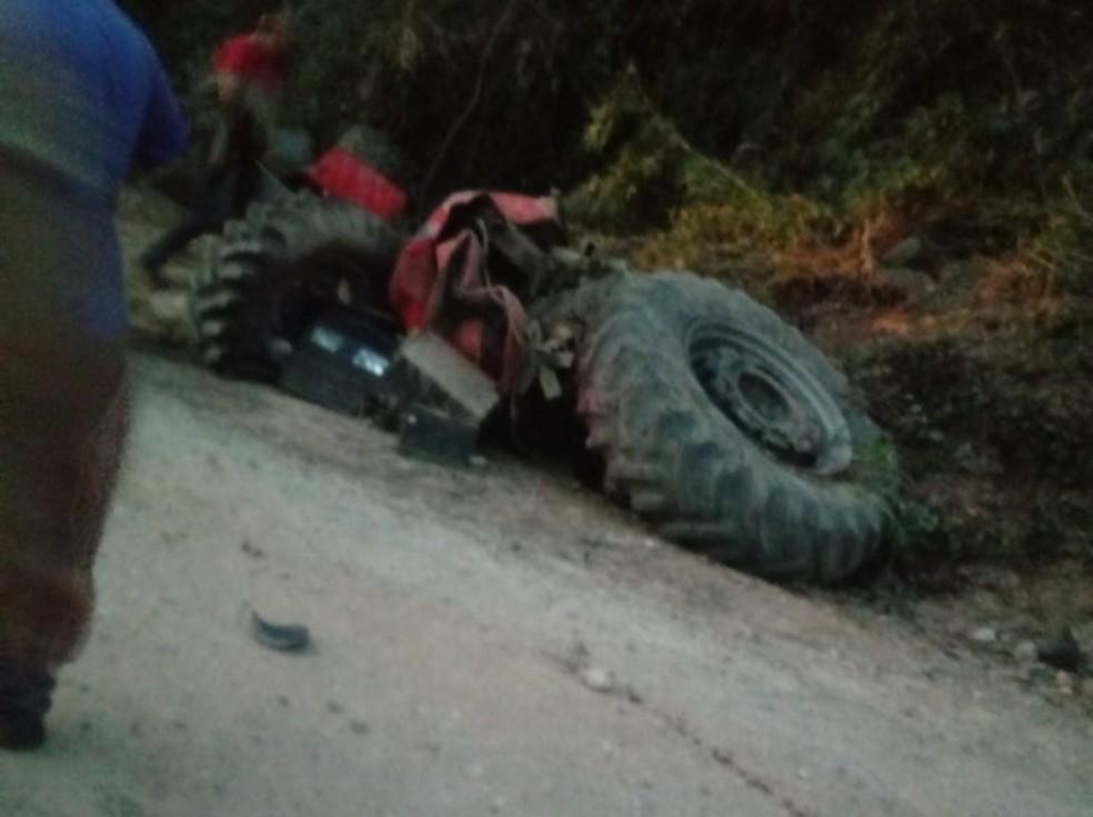 Motorista não resistiu aos ferimentos e morreu no local em Nova Campina (Foto: Reprodução/Internet)