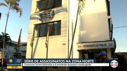 Ataques deixam 4 mortos na Zona Norte de São Paulo