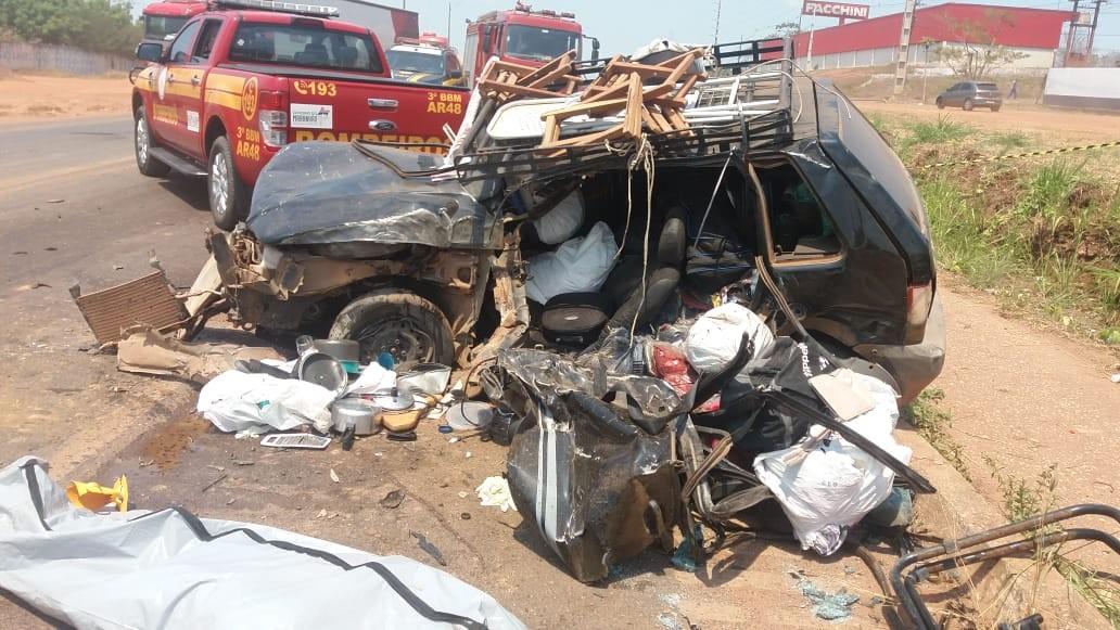 Caminhoneiro faz ultrapassagem proibida, bate em carro e mata motorista na BR-010, no Maranhão - Notícias - Plantão Diário