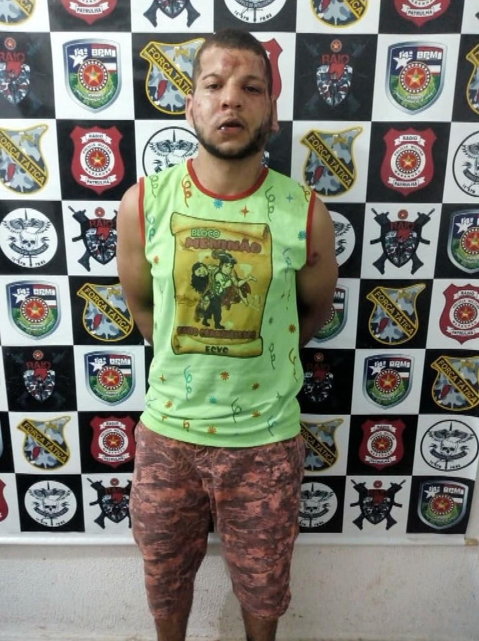 Igor Vieira Almeida foi espancado por populares após ser suspeito de agredir a sua companheira em Imperatriz — Foto: Reprodução/TV Mirante
