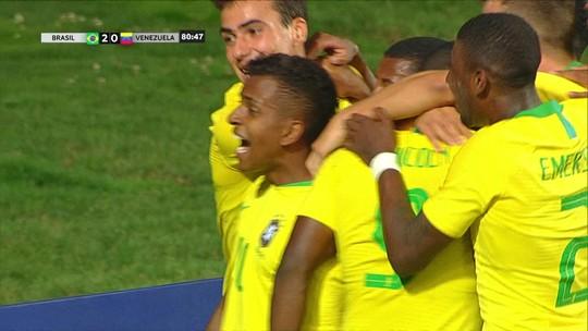 Show de Rodrygo: os gols de Brasil 2 x 1 Venezuela, pelo Sul-Americano sub-20