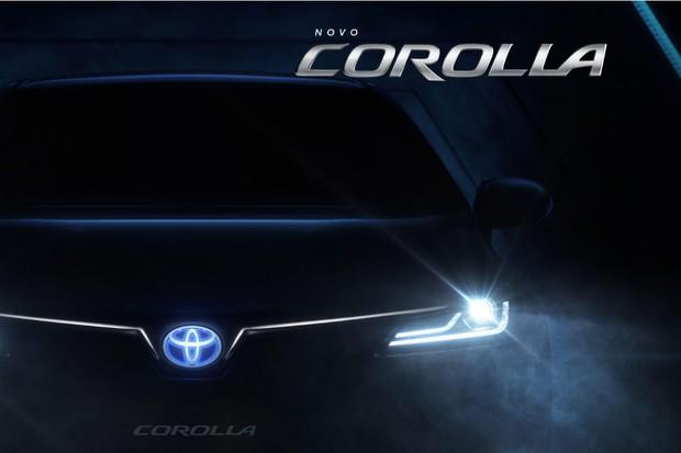 Hotsite do Novo Corolla (Foto: Reprodução site)