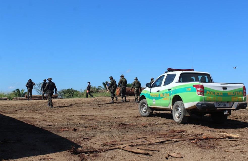 Operação Verde Brasil — Foto: Diêgo Holanda/G1