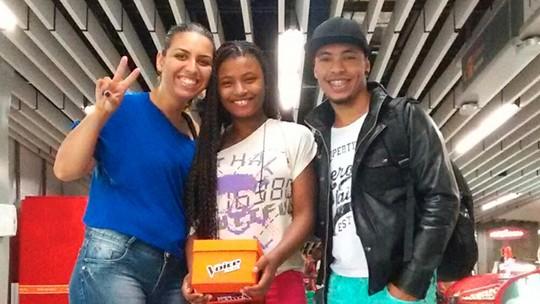 'O sonho é dela, mas é meu também', comemora professor de música de Malu Cavalcanti