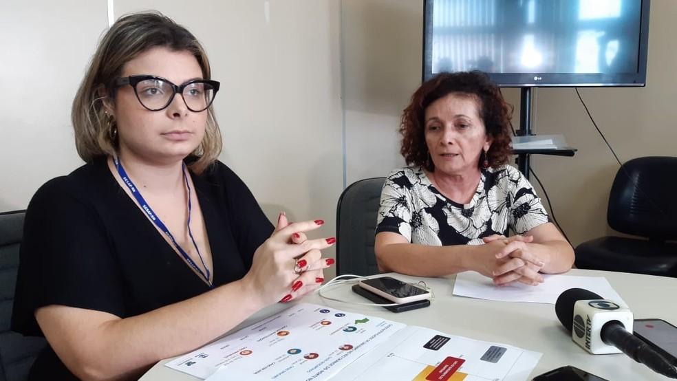 Alessandra Lucchesi, subcordenadora de vigilância epidemiológica — Foto: Sérgio Henrique Santos/Inter TV Cabugi