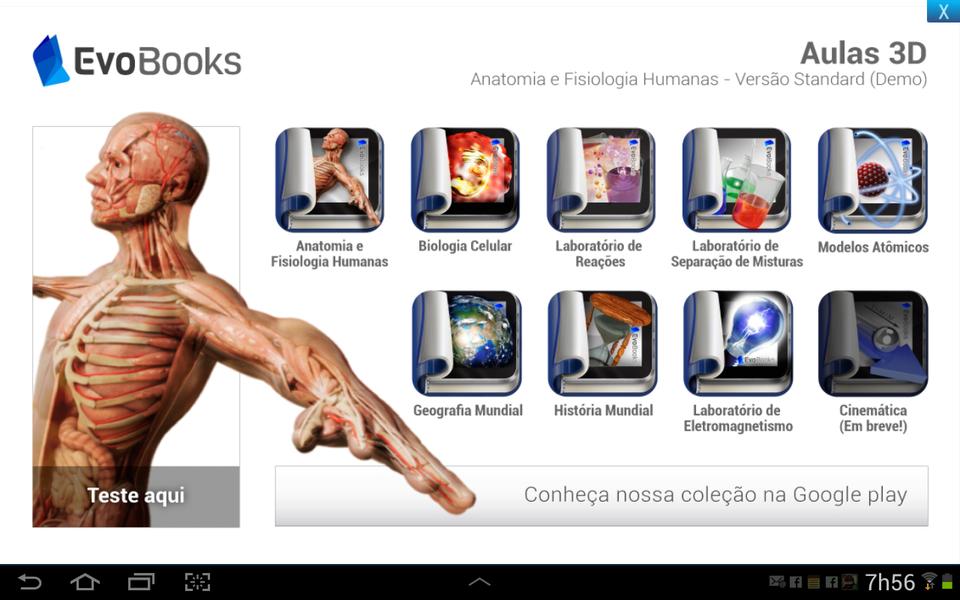 Bonito Aplicación De La Anatomía Humana Para Android Modelo ...
