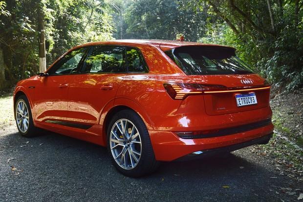 Teste e detalhes Audi e-tron  (Foto: André Schaun/Autoesporte )