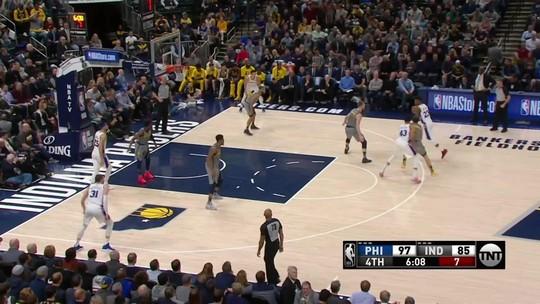 Butler e Embiid dominam, 76ers superam os Pacers fora de casa e embalam terceira vitória seguida