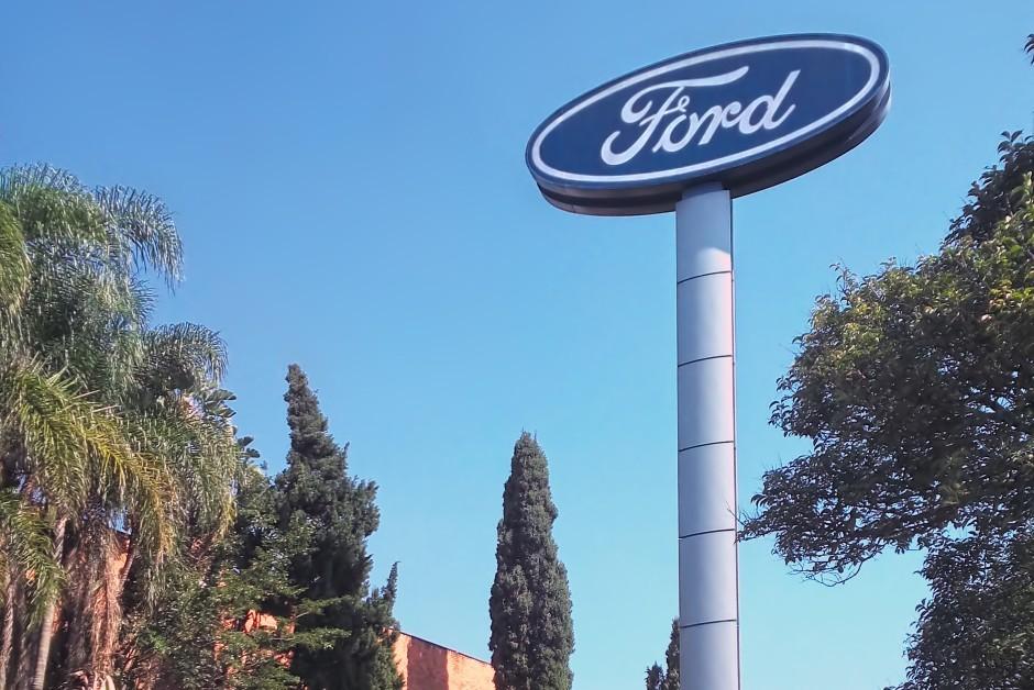 Sede da fábrica da Ford localizada na cidade de São Bernardo do Campo (Foto: Wikimedia Commons)