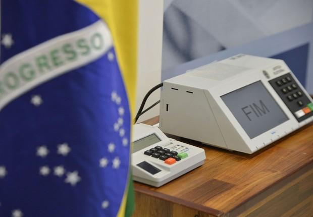 Urna eletrônica ; eleições no Brasil ;  (Foto: Marcelo Camargo/Agência Brasil)