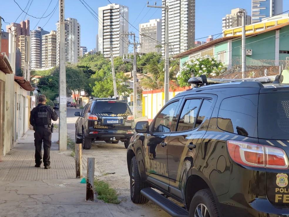PF prende casal suspeito de tráfico de drogas em Natal — Foto: Divulgação/Polícia Federal